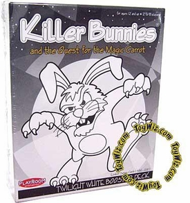 Card Game Killer Bunnies and the Quest for the Magic Carrot Twilight White Booster Deck