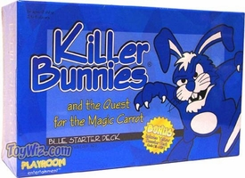 Card Game Killer Bunnies and the Quest for the Magic Carrot Blue Starter Deck