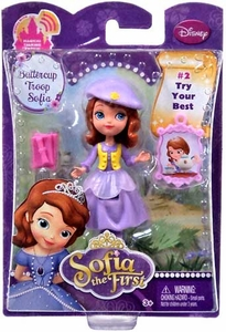 Disney Sofia the First 3 Inch Action Figure Buttercup Troop Sofia