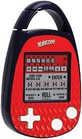 Electronic Game Carabiner Edition Yahtzee