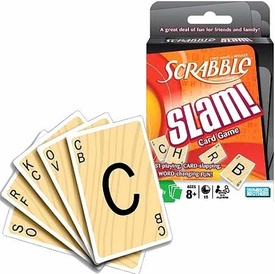 Parker Brothers Scrabble Slam Cards [55 Cards]