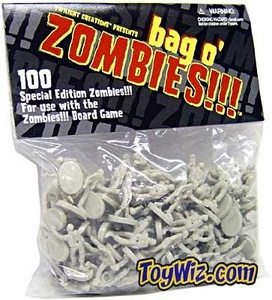 Board Game Bag-O-Zombies [Glow In The Dark]