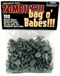 Board Game Zombies Bag-O-Babes