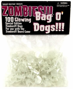 Board Game Zombies Bag-O-Dogs [Glow in the Dark]