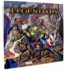 Legendary Upper Deck Marvel Deck Building Game