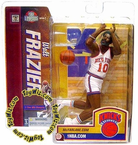 McFarlane Toys NBA Sports Picks Legends Series 2 Action Figure Walt Frazier (New York Knicks) White Jersey