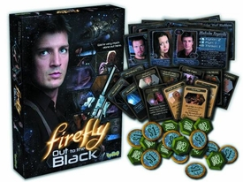 Firefly Out To The Black Card Game Pre-Order ships March