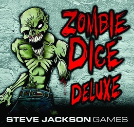 Zombie Dice Deluxe Edition Pre-Order ships April