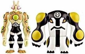 Ben 10 Alien Creation Chamber Mini Figure 2-Pack Eyeguy & Cannonbolt