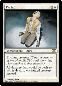 Magic the Gathering Tenth Edition Single Card Rare #33 Pariah