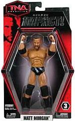 TNA Wrestling Deluxe Impact Series 3 Action Figure Matt Morgan