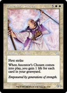 Magic the Gathering Judgment Single Card Uncommon #1 Ancestor's Chosen