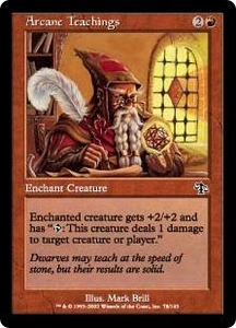 Magic the Gathering Judgment Single Card Common #78 Arcane Teachings