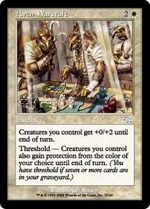Magic the Gathering Judgment Single Card Uncommon #2 Aven Warcraft