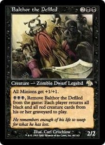 Magic the Gathering Judgment Single Card Rare #61 Balthor the Defiled