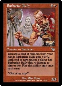 Magic the Gathering Judgment Single Card Common #79 Barbarian Bully