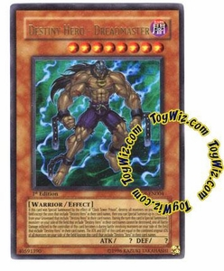 YuGiOh GX Enemy of Justice Single Card Ultra Rare EOJ-EN004 Destiny Hero - Dreadmaster