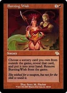 Magic the Gathering Judgment Single Card Rare #83 Burning Wish