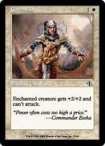 Magic the Gathering Judgment Single Card Common #7 Cagemail