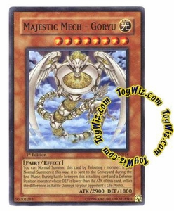 YuGiOh GX Enemy of Justice Single Card Super Rare EOJ-EN016 Majestic Mech - Goryu