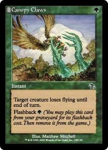 Magic the Gathering Judgment Single Card Common #108 Canopy Claws