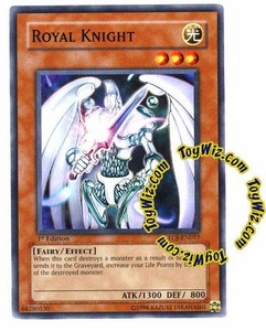 YuGiOh GX Enemy of Justice Single Card Common EOJ-EN017 Royal Knight