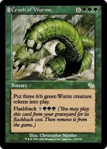Magic the Gathering Judgment Single Card Rare #110 Crush of Wurms