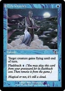 Magic the Gathering Judgment Single Card Common #38 Defy Gravity