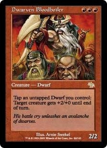 Magic the Gathering Judgment Single Card Rare #84 Dwarven Bloodboiler
