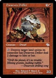 Magic the Gathering Judgment Single Card Uncommon #85 Dwarven Driller