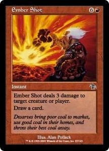 Magic the Gathering Judgment Single Card Common #87 Ember Shot