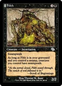 Magic the Gathering Judgment Single Card Uncommon #66 Filth