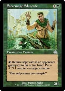 Magic the Gathering Judgment Single Card Uncommon #116 Forcemage Advocate