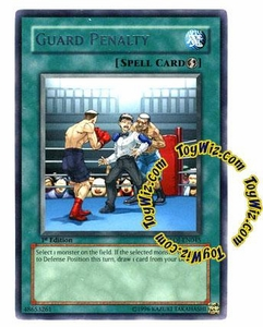 YuGiOh GX Enemy of Justice Single Card Rare EOJ-EN045 Guard Penalty