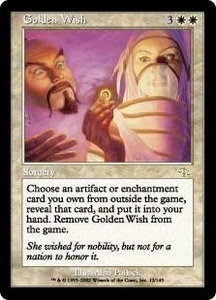 Magic the Gathering Judgment Single Card Rare #12 Golden Wish