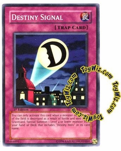 YuGiOh GX Enemy of Justice Single Card Common EOJ-EN052 Destiny Signal