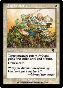 Magic the Gathering Judgment Single Card Common #13 Guided Strike