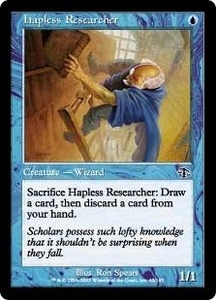 Magic the Gathering Judgment Single Card Common #42 Hapless Researcher