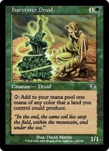Magic the Gathering Judgment Single Card Common #120 Harvester Druid