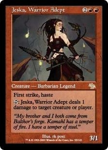 Magic the Gathering Judgment Single Card Rare #93 Jeska, Warrior Adept