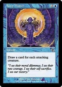 Magic the Gathering Judgment Single Card Common #43 Keep Watch