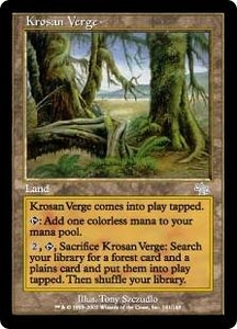 Magic the Gathering Judgment Single Card Uncommon #141 Krosan Verge