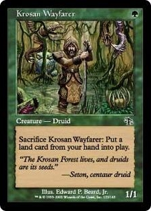 Magic the Gathering Judgment Single Card Common #123 Krosan Wayfarer