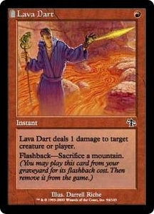 Magic the Gathering Judgment Single Card Common #94 Lava Dart