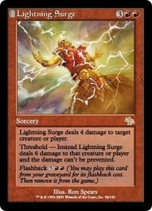 Magic the Gathering Judgment Single Card Rare #96 Lightning Surge