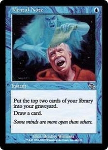 Magic the Gathering Judgment Single Card Common #46 Mental Note