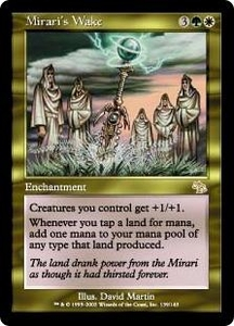 Magic the Gathering Judgment Single Card Rare #139 Mirari's Wake