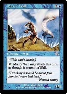 Magic the Gathering Judgment Single Card Common #47 Mirror Wall