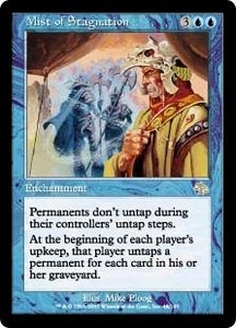 Magic the Gathering Judgment Single Card Rare #48 Mist of Stagnation