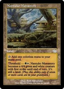 Magic the Gathering Judgment Single Card Uncommon #142 Nantuko Monastery